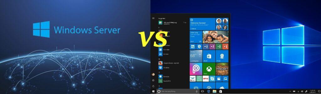 آشنایی و بررسی ویندوز سرور با ویندوز های معمولی